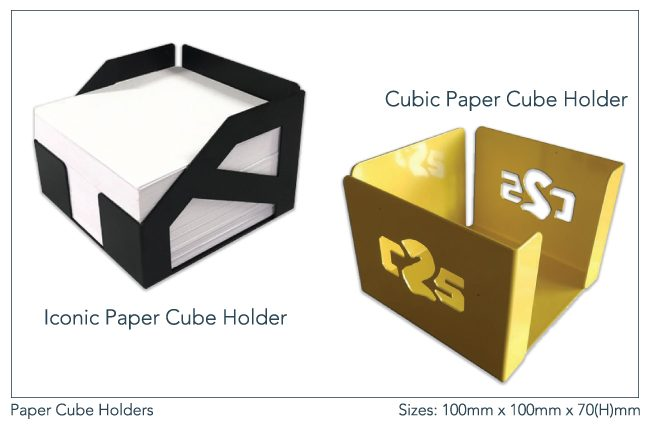 Paper-Cube-Holders